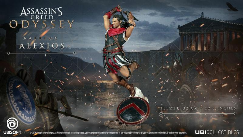 Assassin's Creed® Odyssey: Alexios Figurine