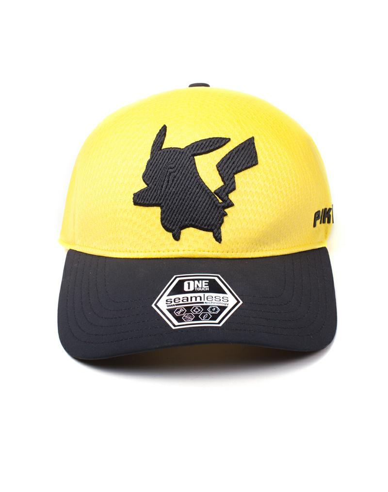 Pokémon: Pikachu Seamless Curved Bill Cap