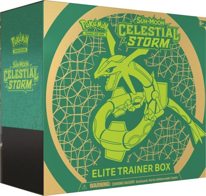 Pokémon TCG: Sun & Moon - Celestial Storm Elite Trainer Box