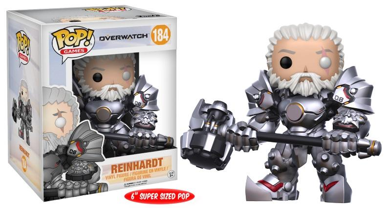 "Pop! Games: Overwatch - Reinhardt 6"" Unmasked [Vain GameStopista]"