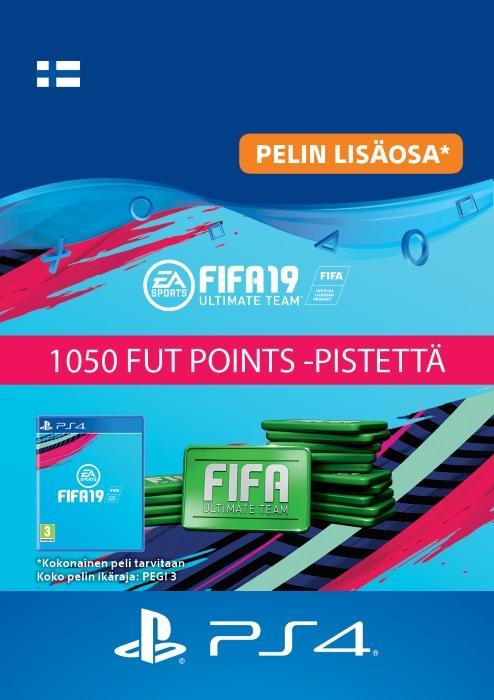 FIFA 19 Ultimate Team™ - 1050 FUT Points -Pistettä PS4:lle [DIGITAALINEN]
