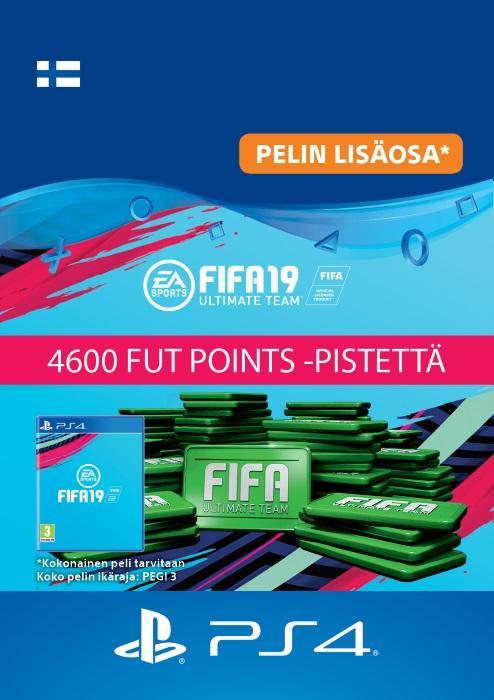 FIFA 19 Ultimate Team™ - 4600 FUT Points -Pistettä PS4:lle [DIGITAALINEN]