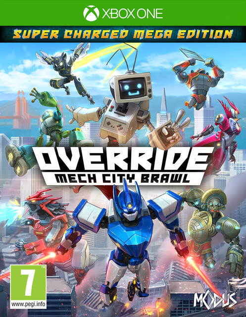Override Mech City Brawl [Super Charged Mega Edition]