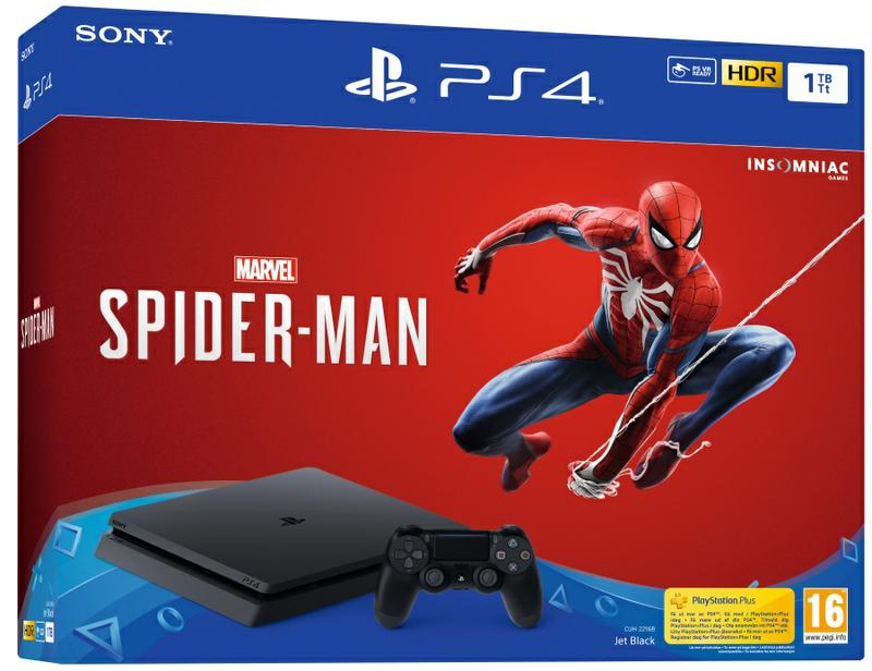PlayStation®4 1TB Konsoli Ja Marvel's Spider-Man