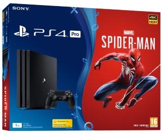 Playstation 4 Pro 1TB Console & Marvel's Spider-Man