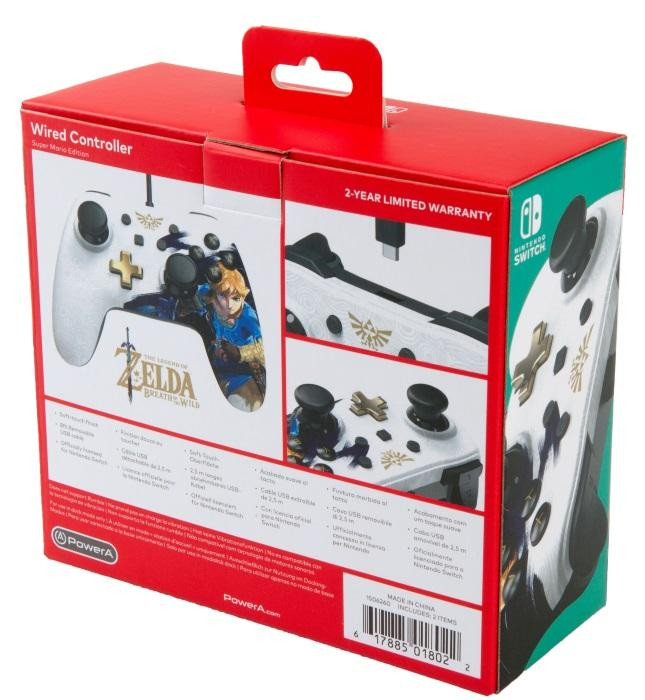 Nintendo Switch Zelda Breath of the Wild Wired Controller