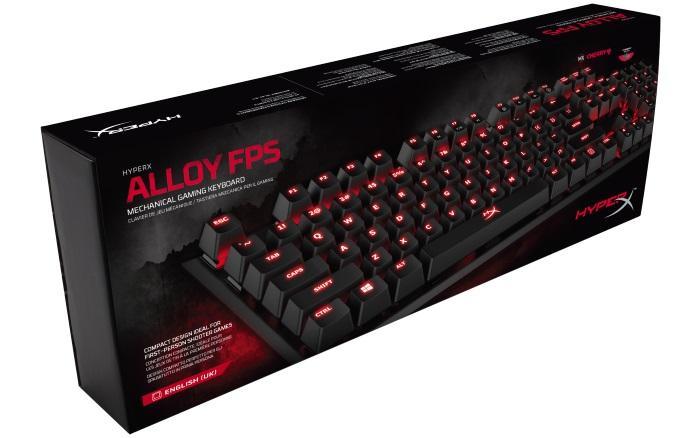 HyperX™: Alloy FPS Mechanical Gaming Keyboard