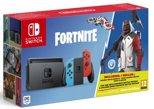Nintendo Switch™ Red/Blue Konsoli ja Fortnite