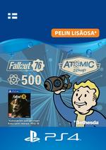 Fallout 76 - 500 atomia PS4:lle