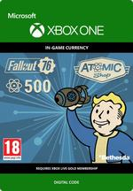 Fallout 76 - 500 atomia Xbox One:lle