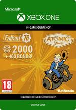 Fallout 76 - 2 000 atomia (+400 bonus atomia) Xbox One:lle
