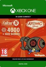 Fallout 76 - 4 000 atomia (+1 000 bonusatomia) Xbox One:lle