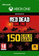 Red Dead Redemption 2: 150 kultaharkkoa Xbox One:lle