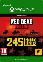 Red Dead Redemption 2: 245 kultaharkkoa Xbox One:lle