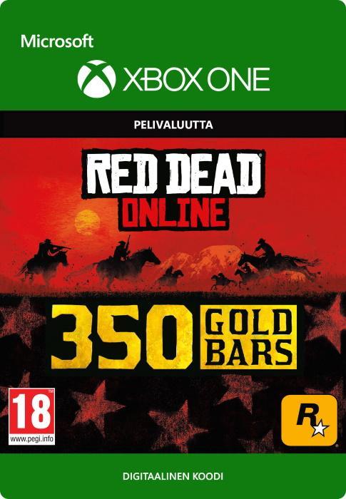 Red Dead Redemption 2: 350 kultaharkkoa Xbox One:lle [DIGITAALINEN]