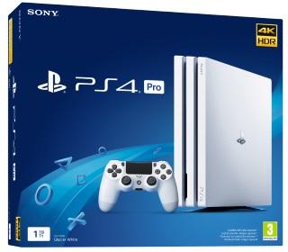 PlayStation®4 Pro 1TB Glacier White Konsoli