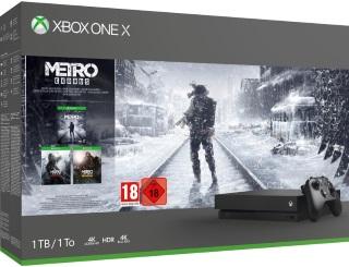 Xbox One X 1TB Konsoli Ja Metro Exodus