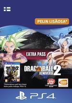 Dragon Ball Xenoverse 2 - Extra Pass PS4:lle