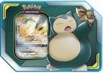 Pokémon TCG: Eevee & Snorlax GX TAG Team Tin