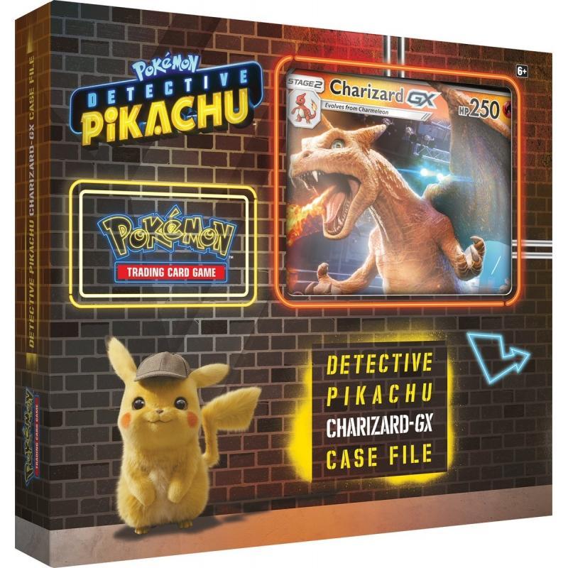 Pokémon TCG: Detective Pikachu Charizard GX Case File