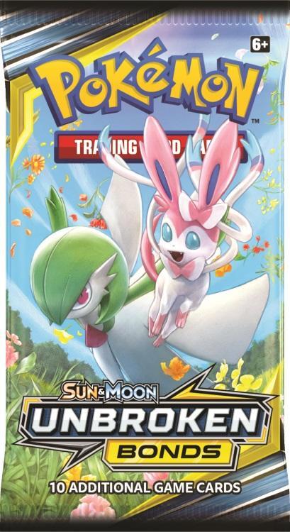 Pokémon TCG: Sun & Moon Unbroken Bonds Booster Pack