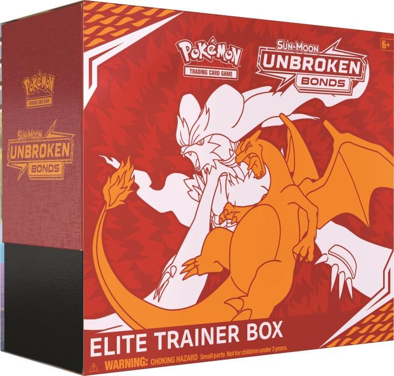 Pokémon TCG: Sun & Moon Unbroken Bonds Elite Trainer Box