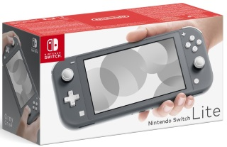 Nintendo Switch Lite Grey Konsoli