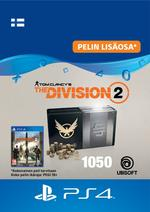 Tom Clancy's - The Division 2: 1050 Premium Credits Pack PS4:lle