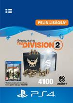 Tom Clancy's - The Division 2: 4100 Premium Credits Pack PS4:lle