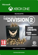 Tom Clancy's - The Division 2: 4100 Premium Credits Pack Xbox One:lle