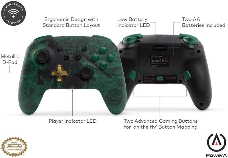 Nintendo Switch The Legend of Zelda Wired Controller