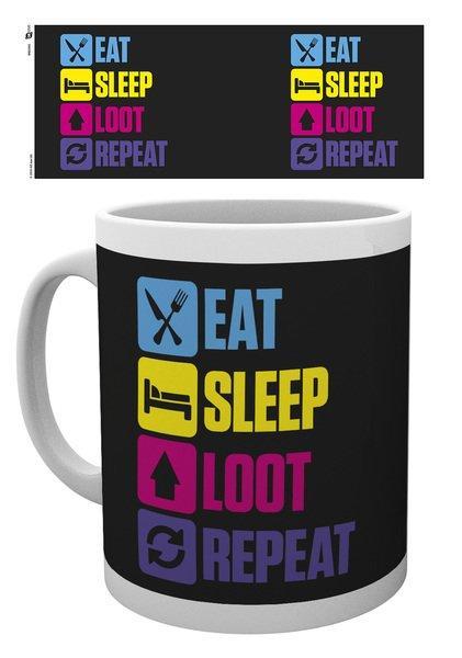 Battle Royale -  Eat Sleep Loot Repeat Mug