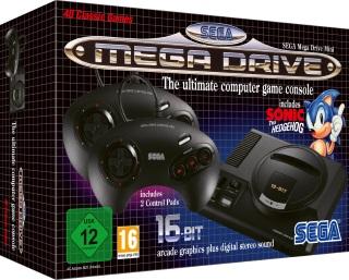SEGA Mega Drive Mini Konsoli