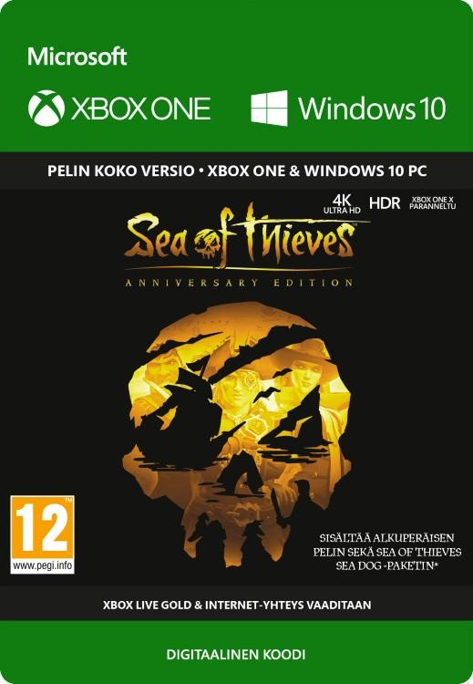 Sea of Thieves: Anniversary Edition Xbox One:lle [DIGITAALINEN]