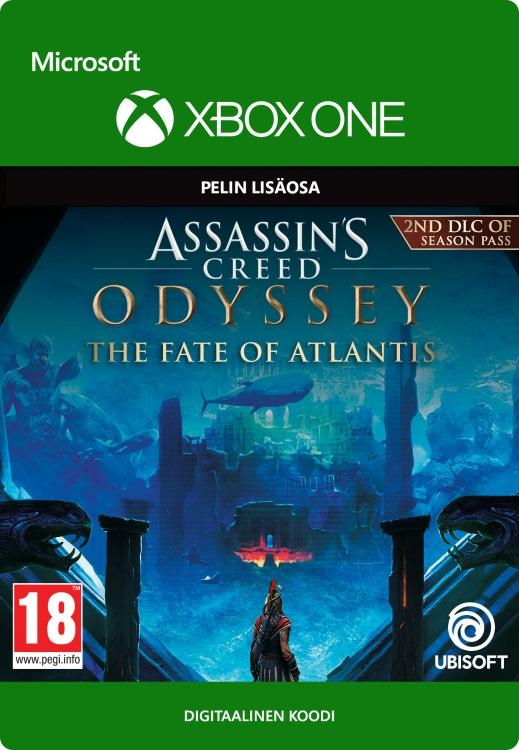 Assassin's Creed® Odyssey The Fate of Atlantis Xbox One:lle [DIGITAALINEN]