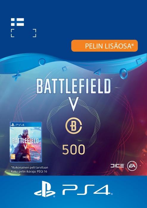 Battlefield™ V – Battlefield-valuutta 500 PS4:lle [DIGITAALINEN]