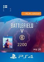 Battlefield™ V – Battlefield-valuutta 2200 PS4:lle