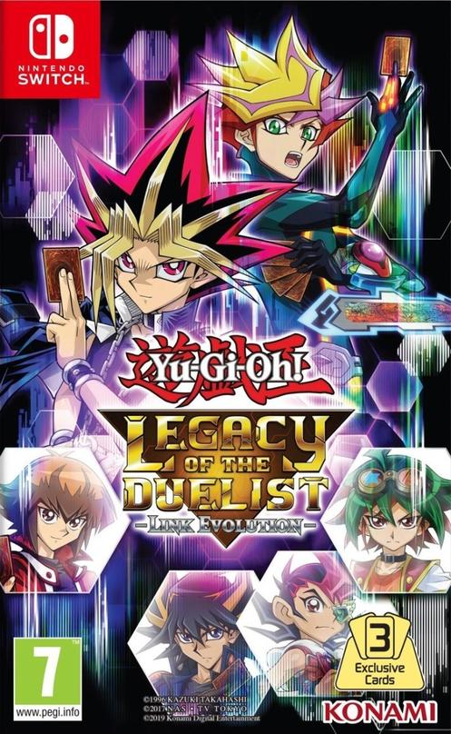 Yu-Gi-Oh! Legacy of the Duelist:Link Evolution [Vain GameStopista]