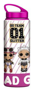 L.O.L. Surprise! Glittershine Aluminium Water Bottle