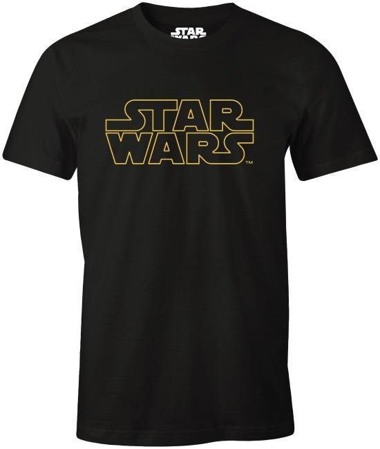 Star Wars: Star Wars Credits Logo T-Paita [Small]