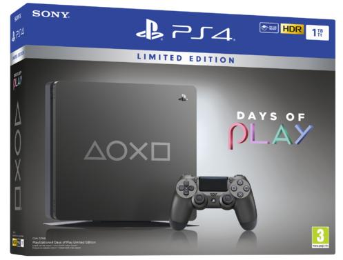 PlayStation®4 1TB Days of Play Limited Edition Konsoli