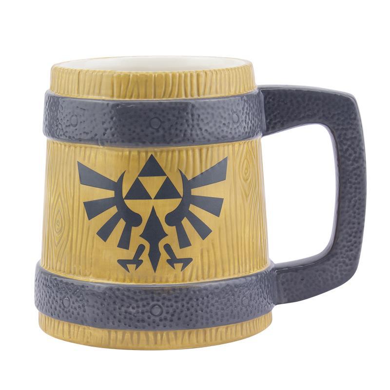 The Legend Of Zelda Hyrule Stein Shaped Ceramic Mug