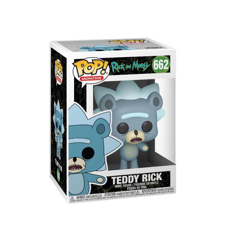 POP Animation: Rick & Morty - Teddy Rick w Chase