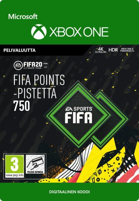 FIFA 20 Ultimate Team™ - 750 FUT -Pistettä Xbox One:lle [DIGITAALINEN]