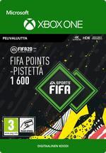FIFA 20 Ultimate Team™ - 1600 FUT -Pistettä Xbox One:lle