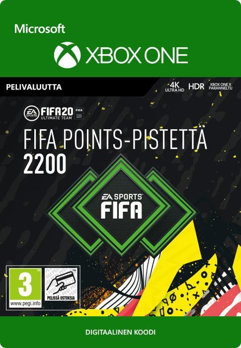 FIFA 20 Ultimate Team™ - 2200 FUT -Pistettä Xbox One:lle [DIGITAALINEN]