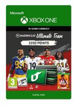 Madden NFL 20 Ultimate Team 2200 Pistettä Xbox One:lle