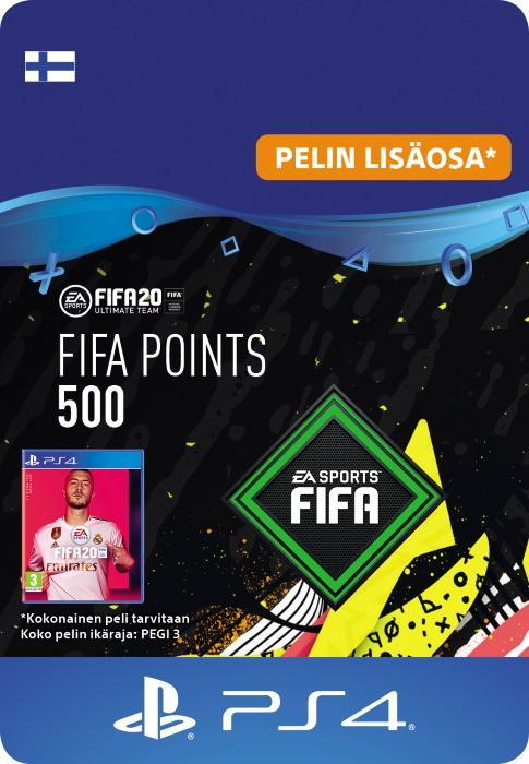 FIFA 20 Ultimate Team™ - 500 FUT -Pistettä PS4:lle [DIGITAALINEN]