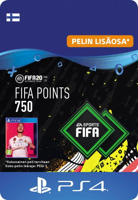 FIFA 20 Ultimate Team™ - 750 FUT -Pistettä PS4:lle [DIGITAALINEN]