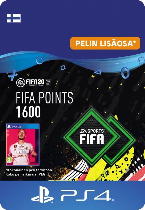 FIFA 20 Ultimate Team™ - 1600 FUT -Pistettä PS4:lle [DIGITAALINEN]